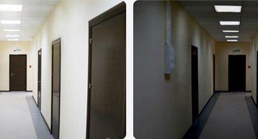 Двухрежимные светильники (с режимом дежурного освещения)