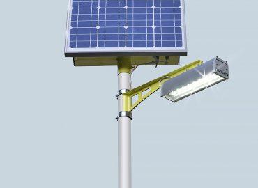 """Светодиодные светильники на солнечных электростанциях """"SGM"""""""