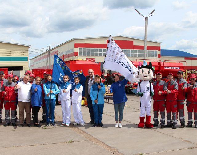 Флаг WorldSkills Kazan – 2019 у нас в гостях!