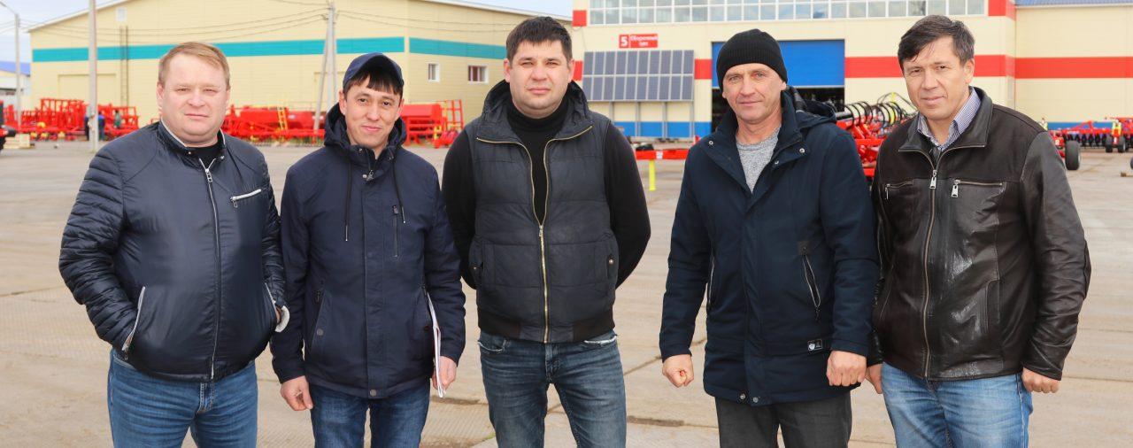 Завод посетили фермеры из Чувашии