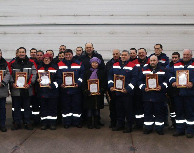 Награждены лучшие работники