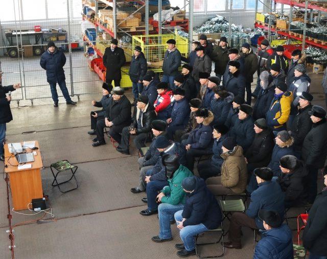 Большая делегация из Башкортостана