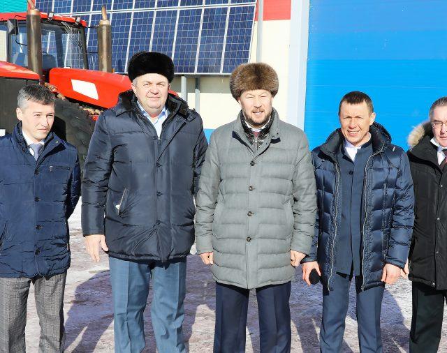 Визит Руководителя Аппарата Президента Республики Татарстан Асгата Сафарова